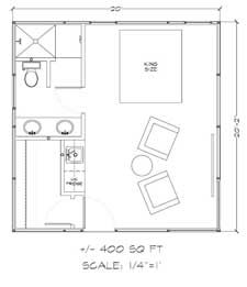 Teton house kit floor plan