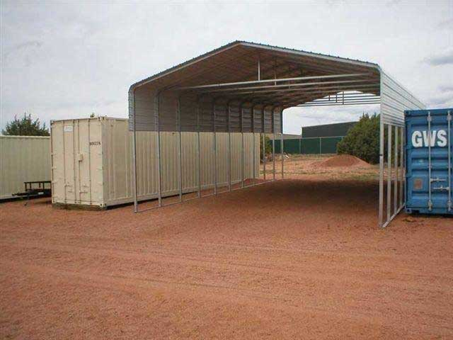 Storage Covers For Tractors : Conex shelter plans joy studio design gallery best