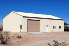 West Texas metal building commercial