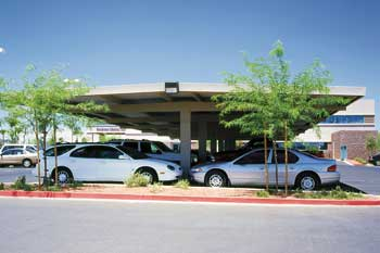 Texas Commercial Carports - T Frame Design