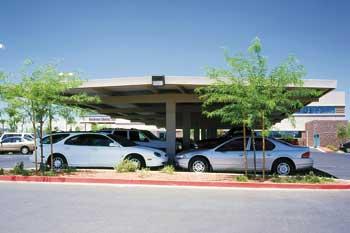 Texas Commercial Carports - T Frame Design