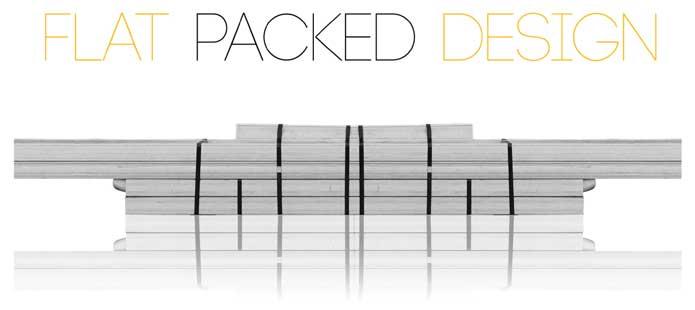 Flat pack design