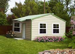 Kit homes guest house and cabin kits for Home building kits texas