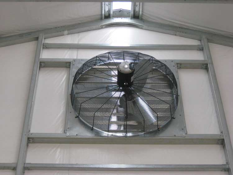 Construction Ventilation Fans : Steel building ventilation g garage pinterest