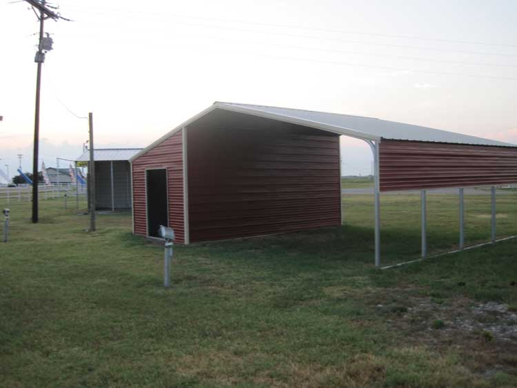 Building Carport With Storage : Yia free access plans for metal storage shed