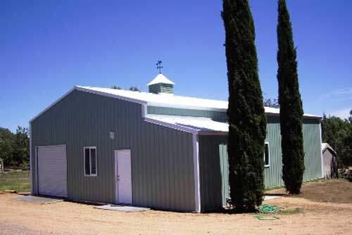 Steel Barn Style Building