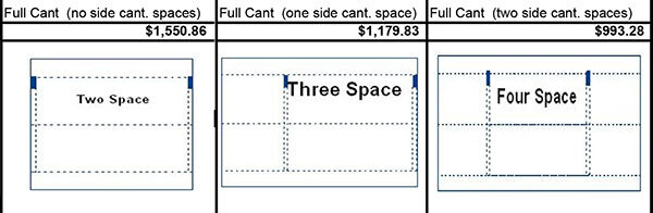 Full Cantilever Frame Cost Estimates