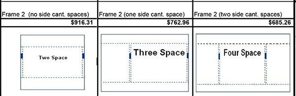 Semi Cantilever Frame Price