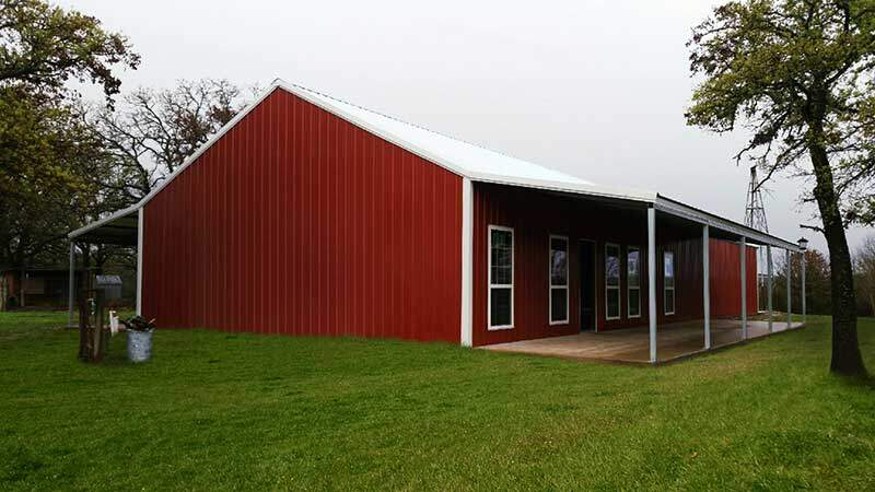 Barndominium combination barn and condominium for Home building kits texas