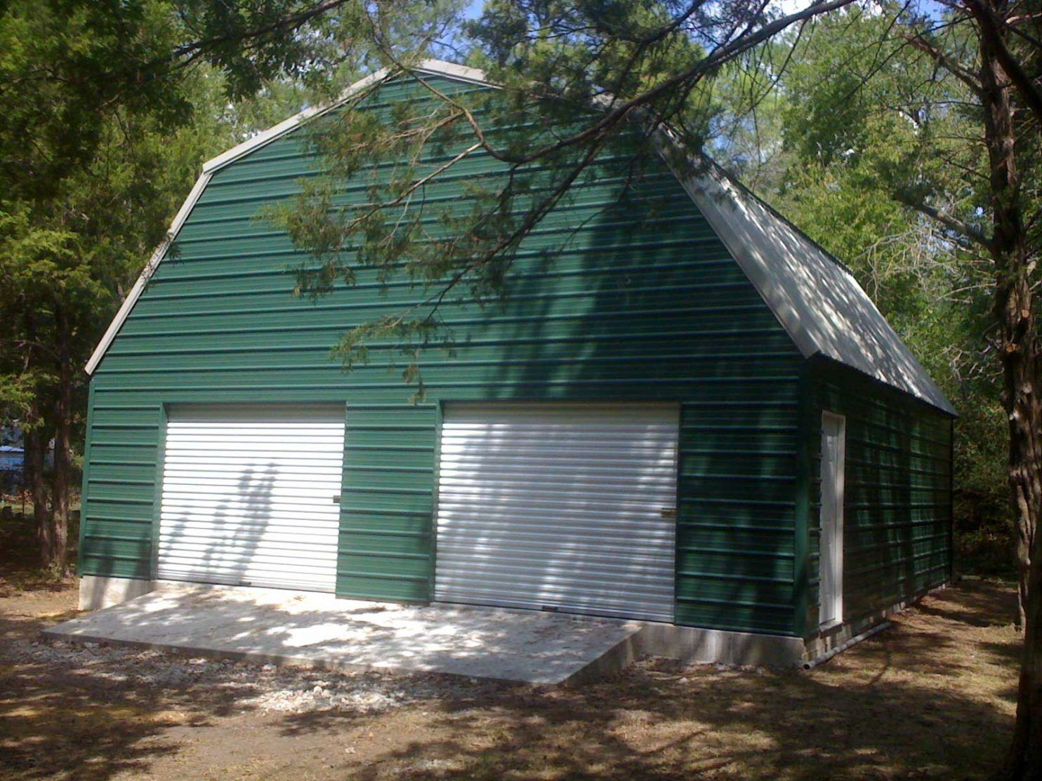 gambrel barn style metal building kit
