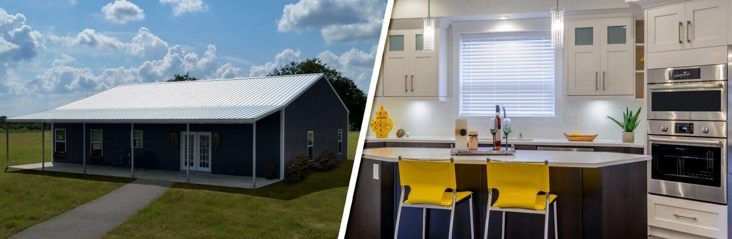 Texas Barndominium Kits : Custom Barndominiums Made in The USA