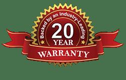 20 year frame warranty